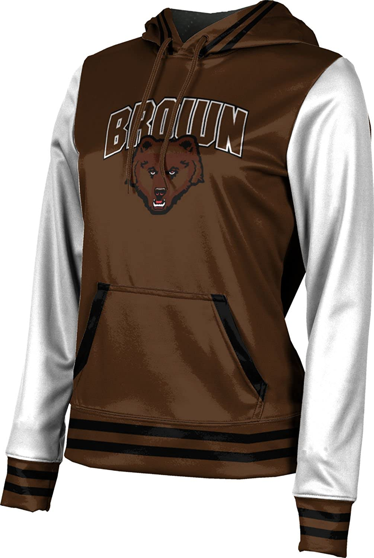 Letterman ProSphere Brown University Girls Pullover Hoodie School Spirit Sweatshirt