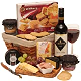 Wine, Cheese and Pate Hamper - Luxury Gift Hampers Collection - Food Hamper - Cheese And Wine Hampers