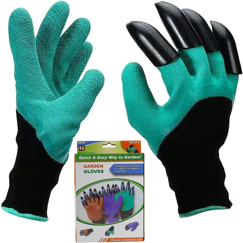 Garden Genie Gloves,Waterproof Gardening Gloves with Hand Sturdy Claws,,Best Gardening Gifts for Women and Men
