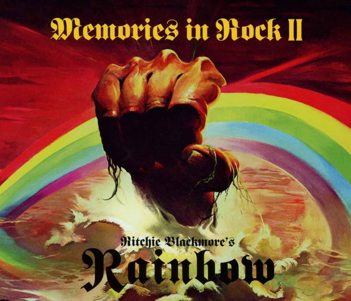 CD : Ritchie Blackmore's Rainbow - Memories In Rock Ii (With DVD, 3PC)