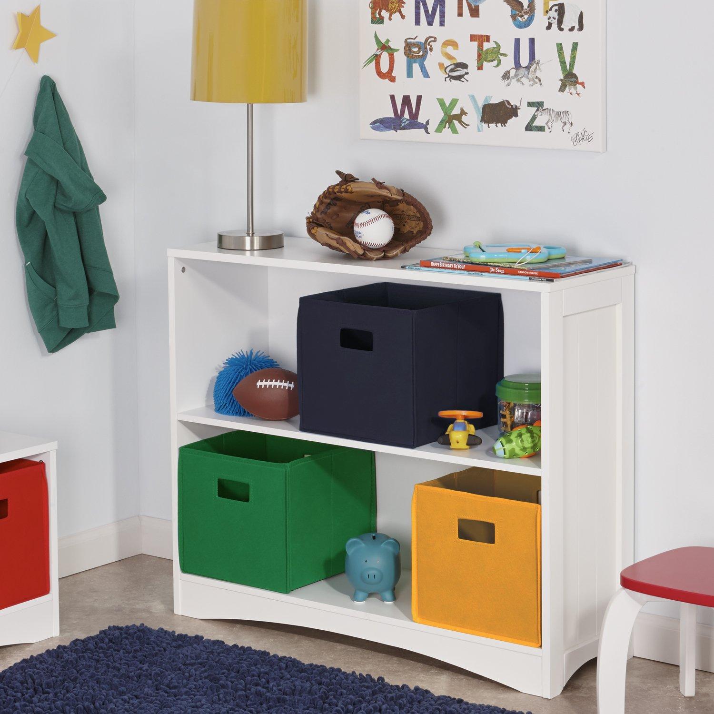 riverridge kids horizontal bookcase white kitchen