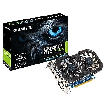 Gigabyte N75twf2oc 4g Carte Graphique Nvidia Geforce Gtx 750 T 1059 Mhz 4096 Mo Pci Express