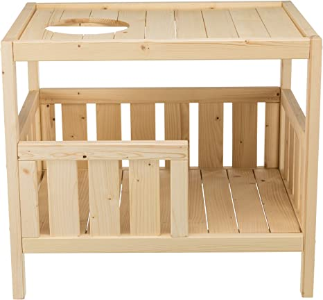 Trixie Natura Indoor Pet Home And Lounging Platform Solid Sustainble Wood Natural Pet Supplies