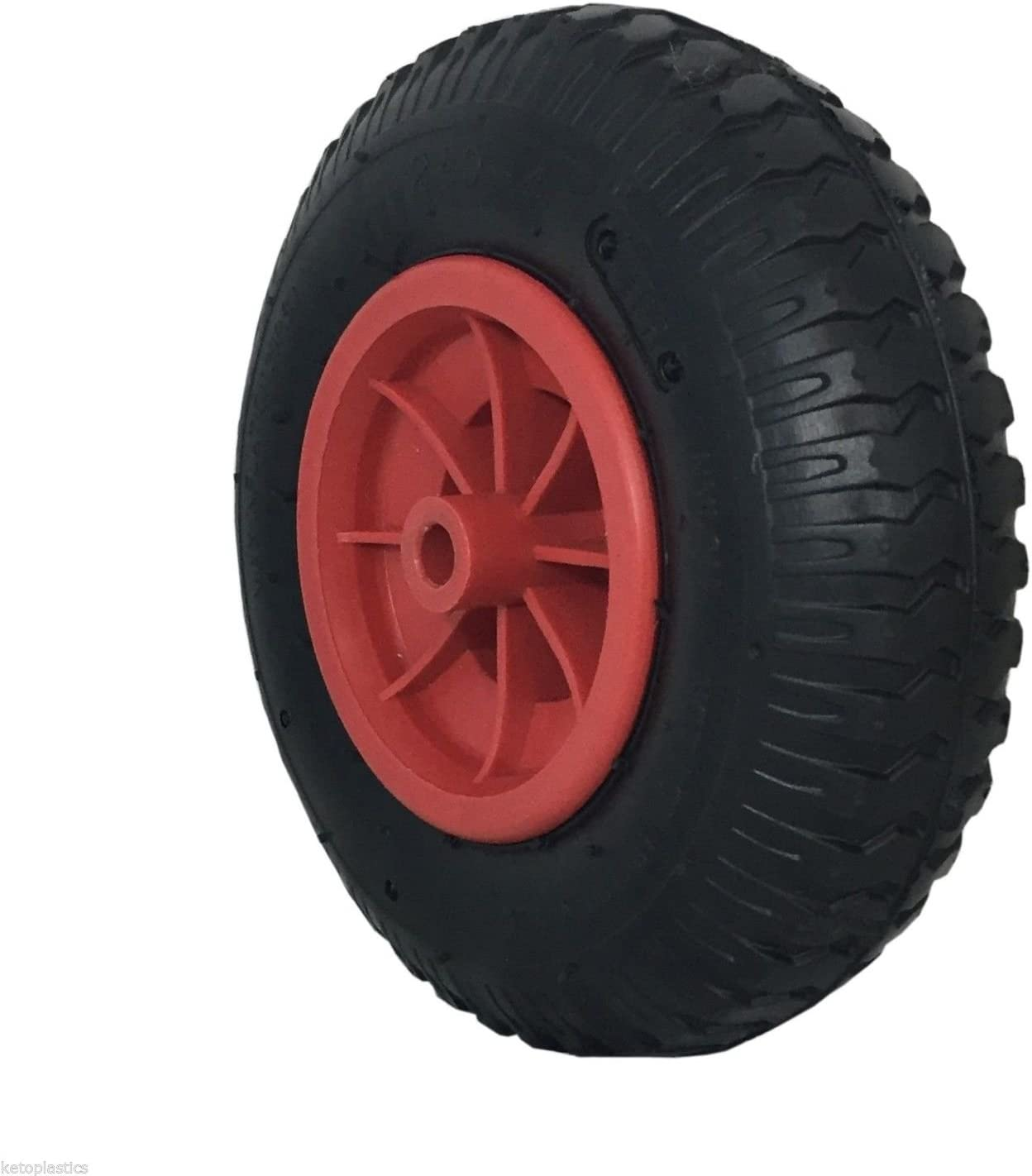 Sack Truck Trolley Bent Valve 220 x 65 4 PLY 2.50-4 Tyre With Inner Tube