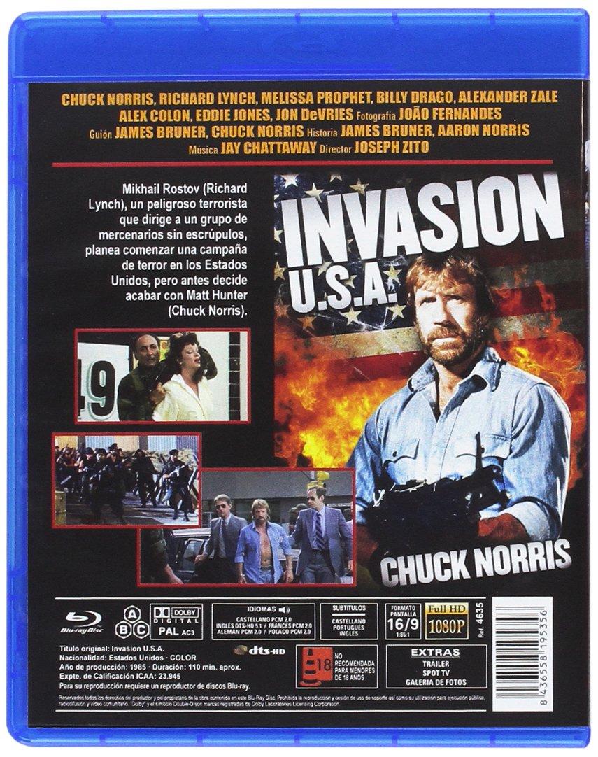 Amazon.com: Invasion USA [ Non-usa Format: Pal -Import- Spain ]: Richard Lynch, Melissa Prophet, Chuck Norris: Movies & TV