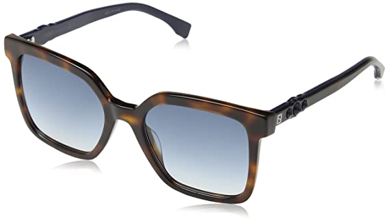 Amazon.com: Fendi FF 0269/S ‑ Dark Havana 0086 Gafas de sol ...