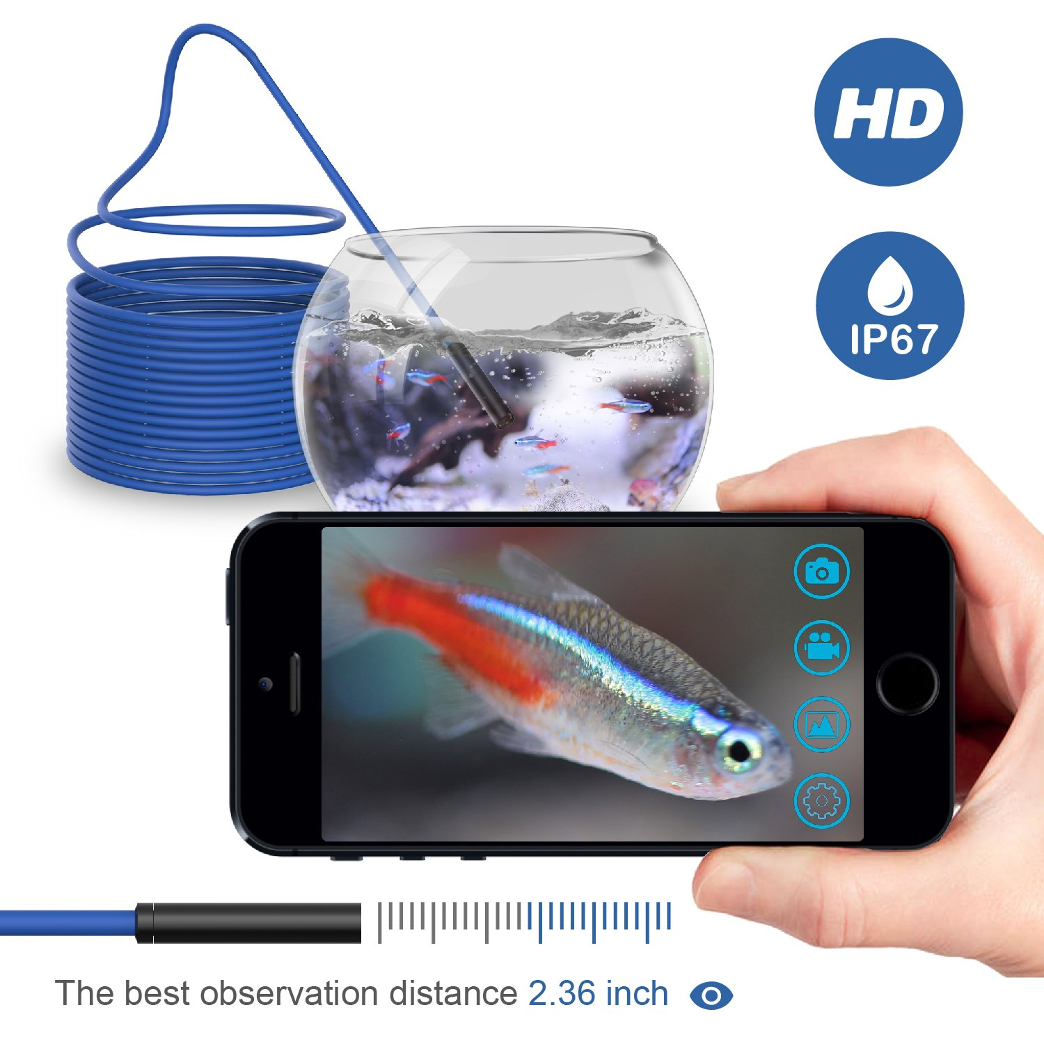 Wireless Endoscope THZY