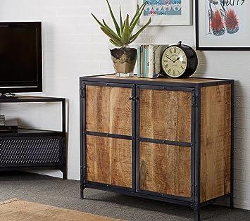 Verty Furniture Industrial Chic 2 Tur Schmal Sideboard Esszimmer