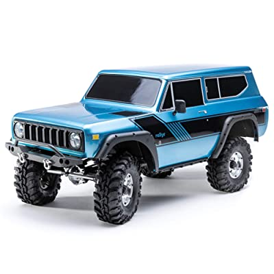 Redcat Racing Blue GEN8 Scout II Scale Rock Crawler 4WD Off Road with Portal Axles Licensed Body & More: Toys & Games