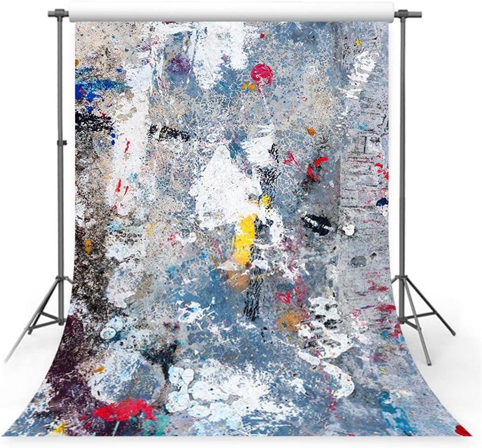 WaW 3x3m Studio Hintergrund Fotografie Blau Fotohintergrund Stoff Kulisse f/ür Hochzeit Portr/ät