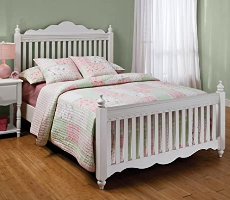 Amazon.com: Hillsdale Furniture 1528BFR Lauren Post Bed Set with ...