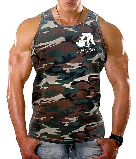 Mens Vest Tank Top Zip Up Hoodie Sweatshirt Camo Sleeveless T Muscle Gym MMA