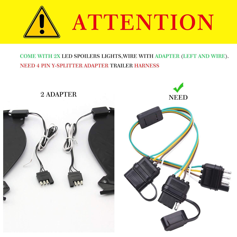 Luces de esquina para parachoques trasero/barra de paso LED con ...