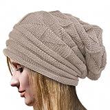 Koly® Women's Winter Crochet Hat Wool Knitted Beanie Warm Cap