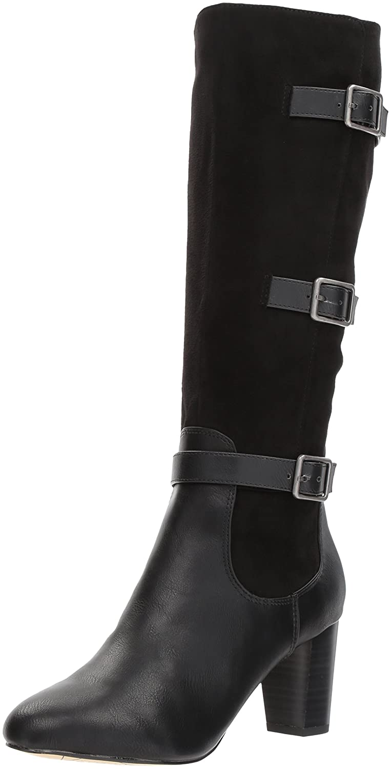 Bella Vita Women's Talina Ii Harness Boot B071R4CNS8 9.5 2W US|Black Burnish