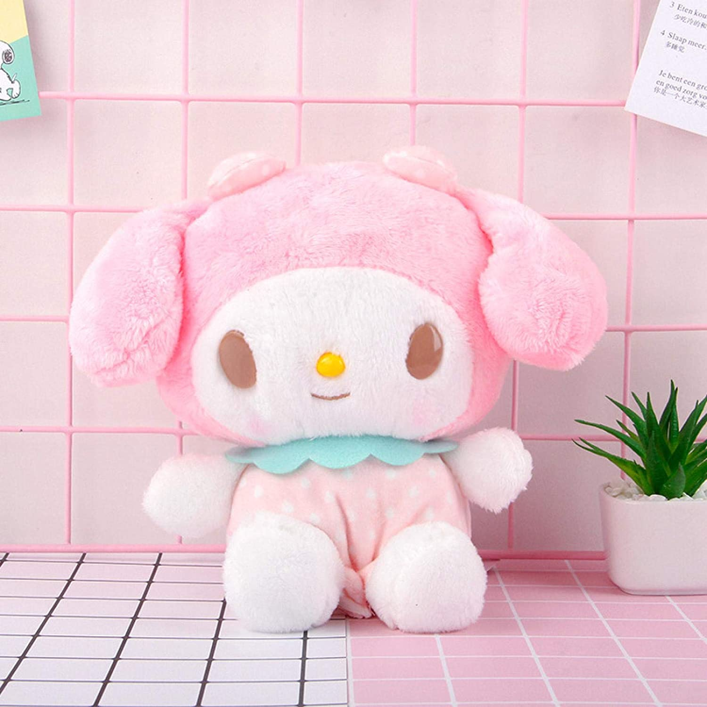Balamii Animal Plush Toys 25cm Cartoon Series Plush Toy My Melody Pendant Doll Pudding Dog Pillow Toy Soft Stuffed Sanrio Keyring mymelody