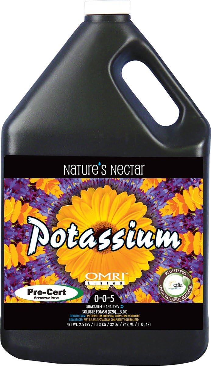 Nature's Nectar Potassium 0-0-5, 1 gal