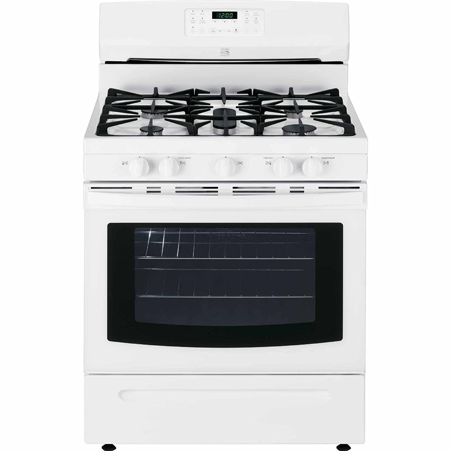 Amazon.com: Kenmore 74232 5.0 cu. ft. Self Clean Gas Range in White,  includes delivery and hookup: Appliances