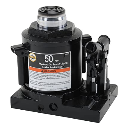 Amazon.com: Omega 10500 Black Hydraulic Bottle Jack - 50 Ton Capacity: Automotive