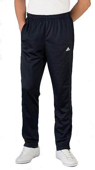 adidas Jogginghose Herren 3 Streifen Sporthose lang schwarz   sieger preise