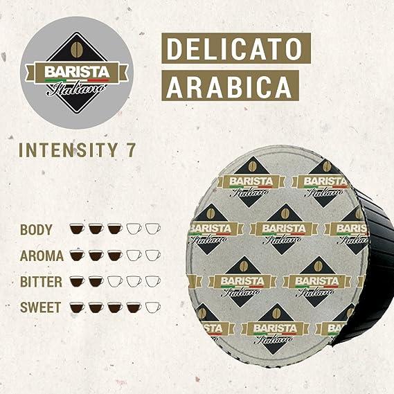 Barista Italiano 80 Dolce Gusto Cápsulas Compatibles (CAPPUCCINO, 80 Cápsulas, 40 Porciónes, Variedad de café + leche): Amazon.es: Alimentación y bebidas