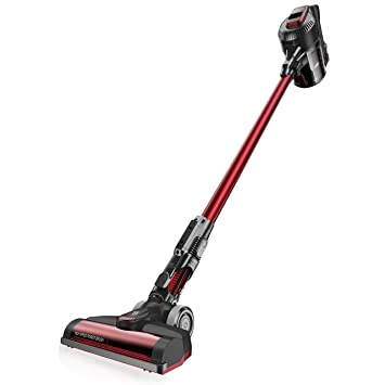 Cecotec Aspirador Vertical Conga ThunderBrush 820 Immortal Battery 29,6 V Color Rojo: Amazon.es: Hogar