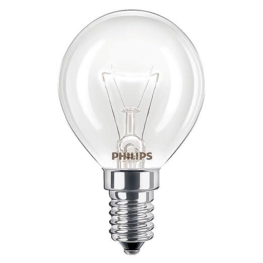 Philips Lámpara de horno de 40 W SES E14, rosca pequeña 300 ...