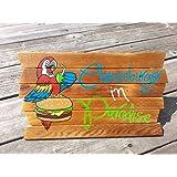 Amazon com: Adonis554Dan Aloha Wood Signs Aloha Signs