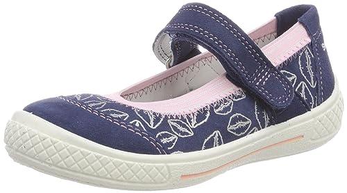 Superfit Tensy, Zapatillas para Niñas, Azul (Water), 35 EU