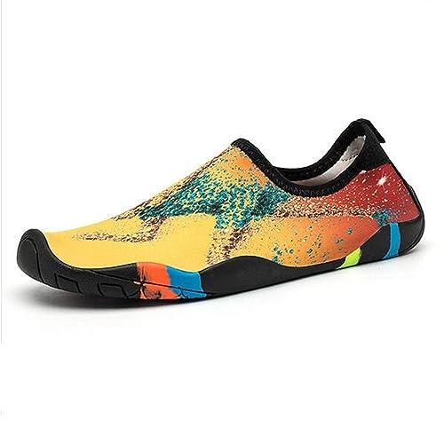 VELLYOUNG Zapatos de Agua Unisex para Surf Natación Buceo Snorkel Zapatillas Calzado Playa Yoga Deportes Acuáticos Quick-Dry Ultra-Light Anti-Slipped ...