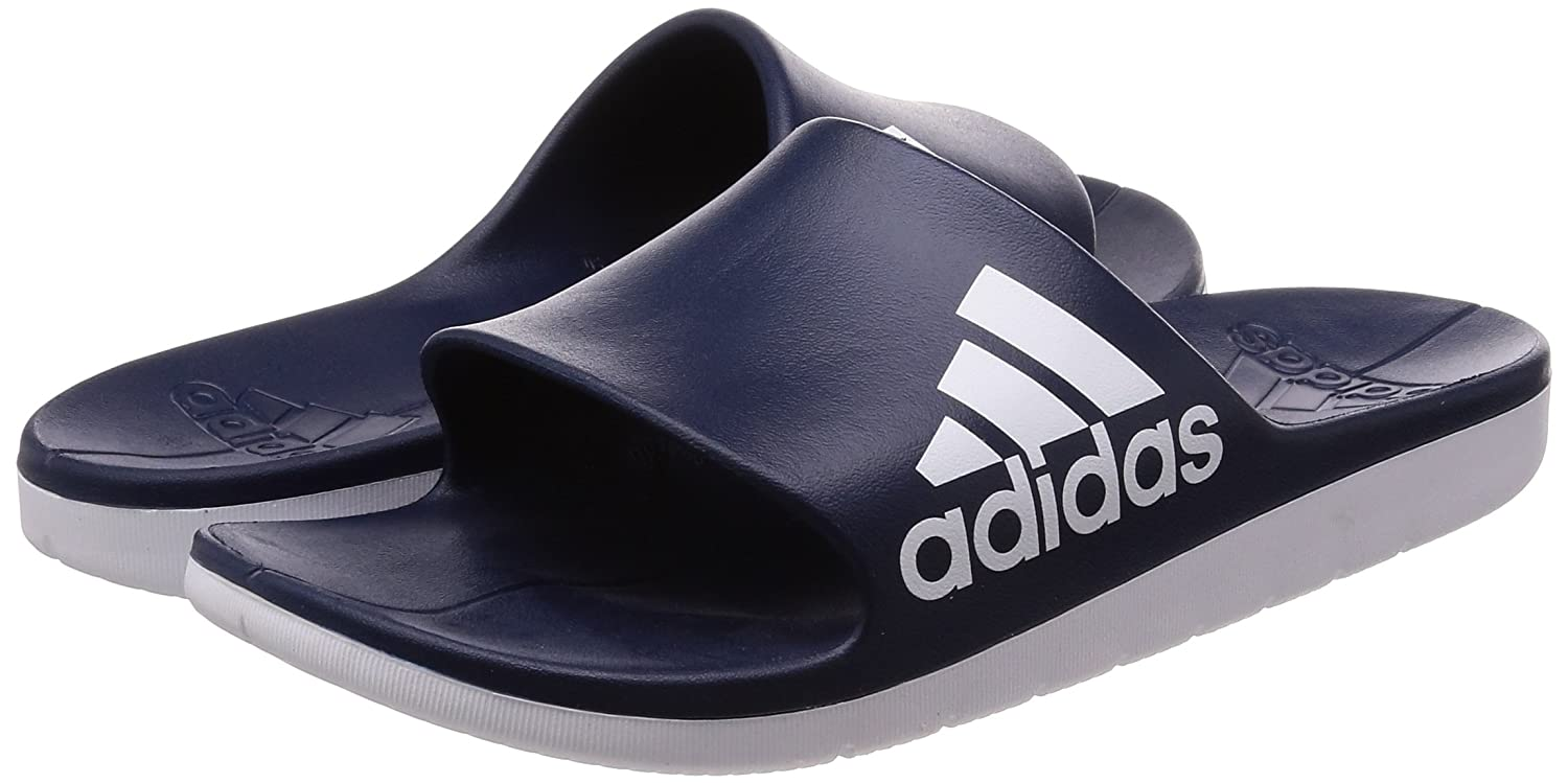 a810063269b Adidas Men Sandals Swimming Aqualette Cloudfoam Slides Pool Beach Sporty  (47)  Amazon.ca  Shoes   Handbags