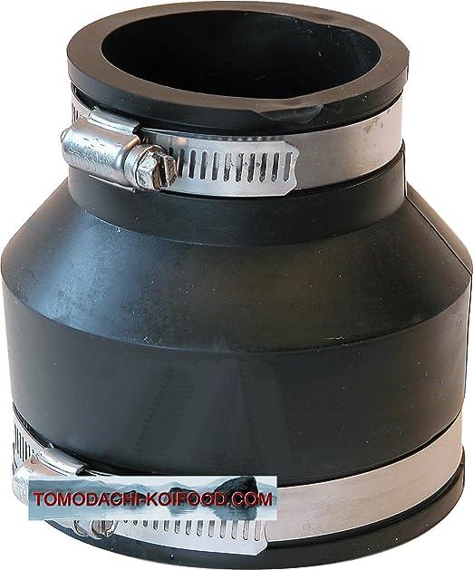Goma Reducción – Flexible manguito, flexfitting para la conexión de dos tubos diferentes tamaño, elastómero flexfitting de