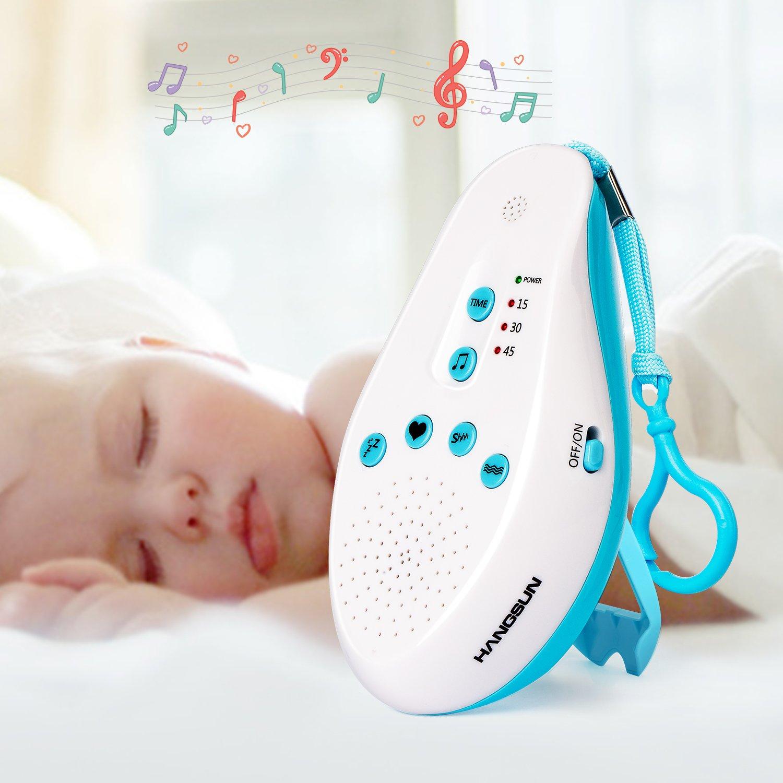 Hangsun Macchina di suoni bianchi ST50 SoundSpa per bambini con 5 Suoni Terapia, Timer Impostazione