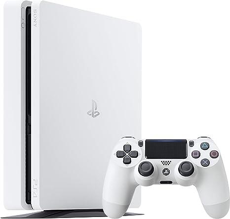 Sony PS4 500GB Slim Glacier White Blanco Wifi - Videoconsolas ...
