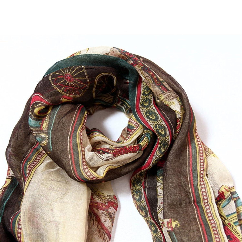 Elaco Women Lady Girls Soft Long Carriage Scarf Large Wrap Shawl Scarves