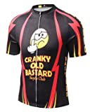 Baisqi Mens Short Sleeve Cycling Jersey Size XL