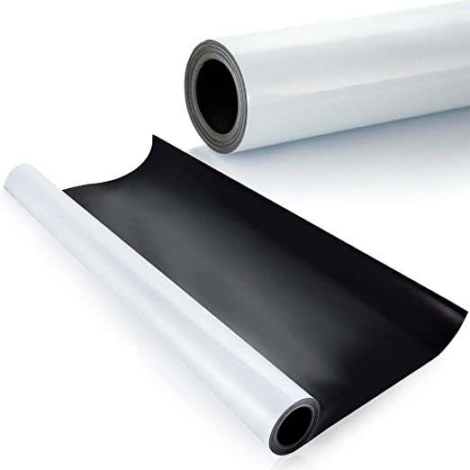 """1 Roll of White Blank Magnet 12/""""wide x 25/' Feet  long High quality USA  $55"""