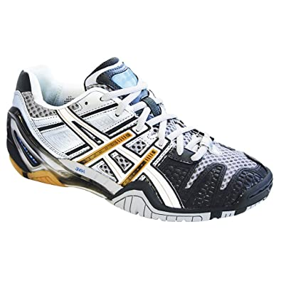 7ee13a1c6528f8 Amazon.com | ASICS Gel Blast 4 Women's Shoes Charcoal/Wht/Gold ...