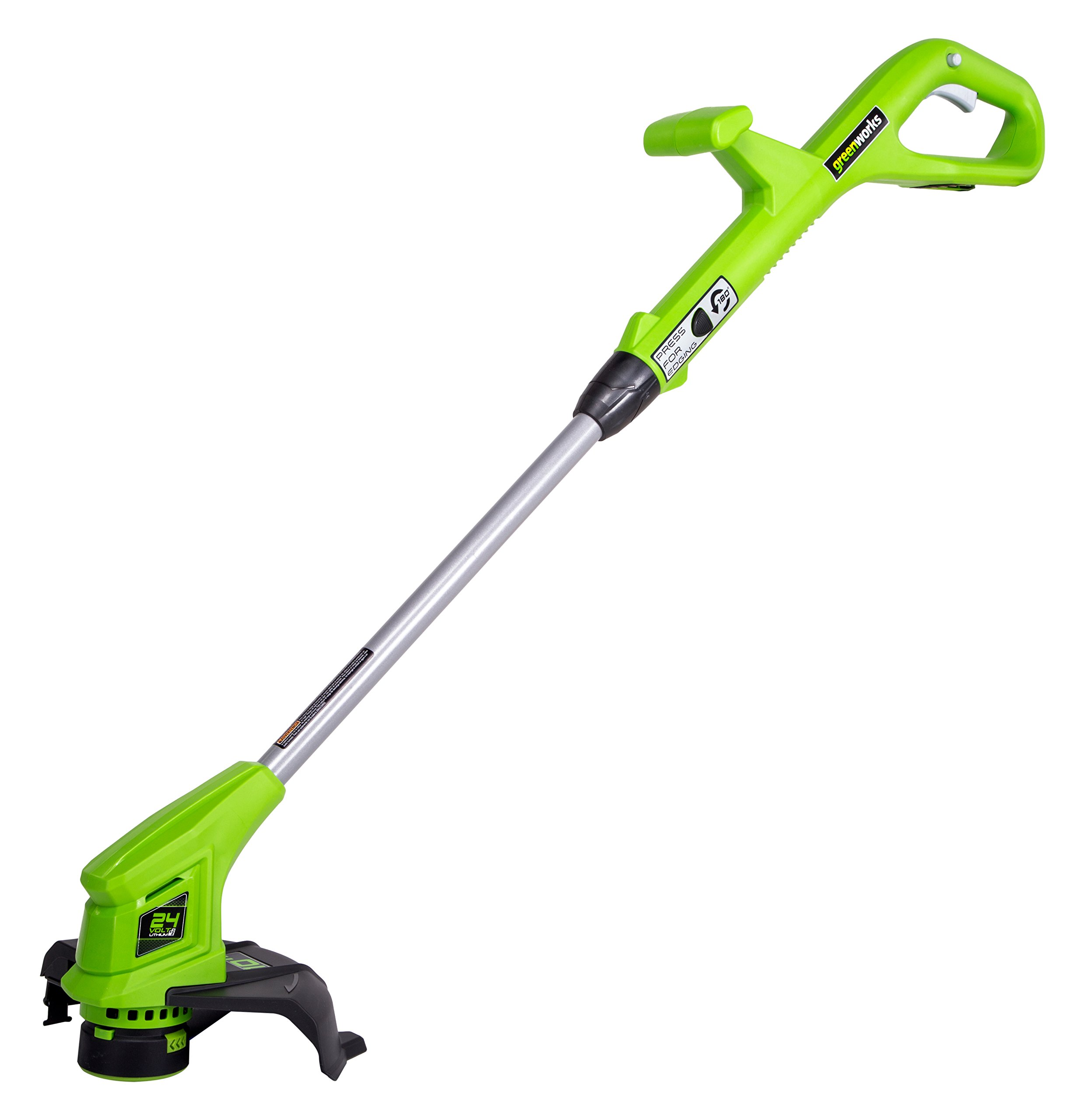 Greenworks 10-Inch 24V Cordless String Trimmer, Battery Not Included ST24B01