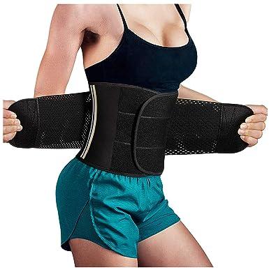 8ad705ffc7b10 Gotoly Women s Waist Trainer Trimmer Slimming Belt Hot Neoprene Sauna Sweat  Belly Band Body Shaper (