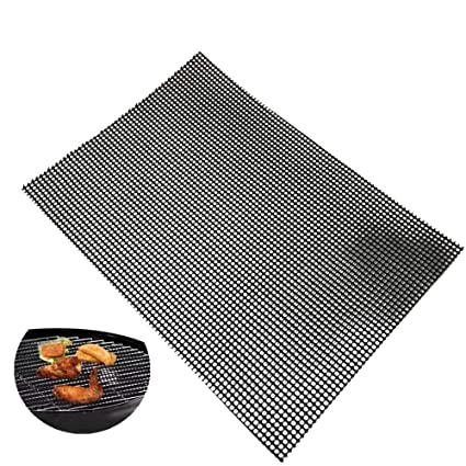 Amazon.com: Alfombrilla antiadherente para barbacoa ...