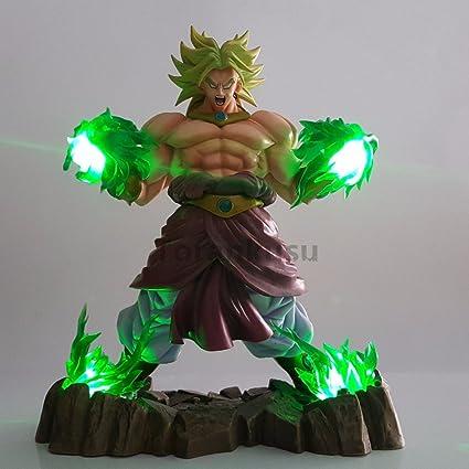 Amazon Com Dragon Ball Z Broly Action Figures Super Saiyan Green