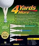 GreenKeeper 4 Yards More Golf Tee, Variety Pack