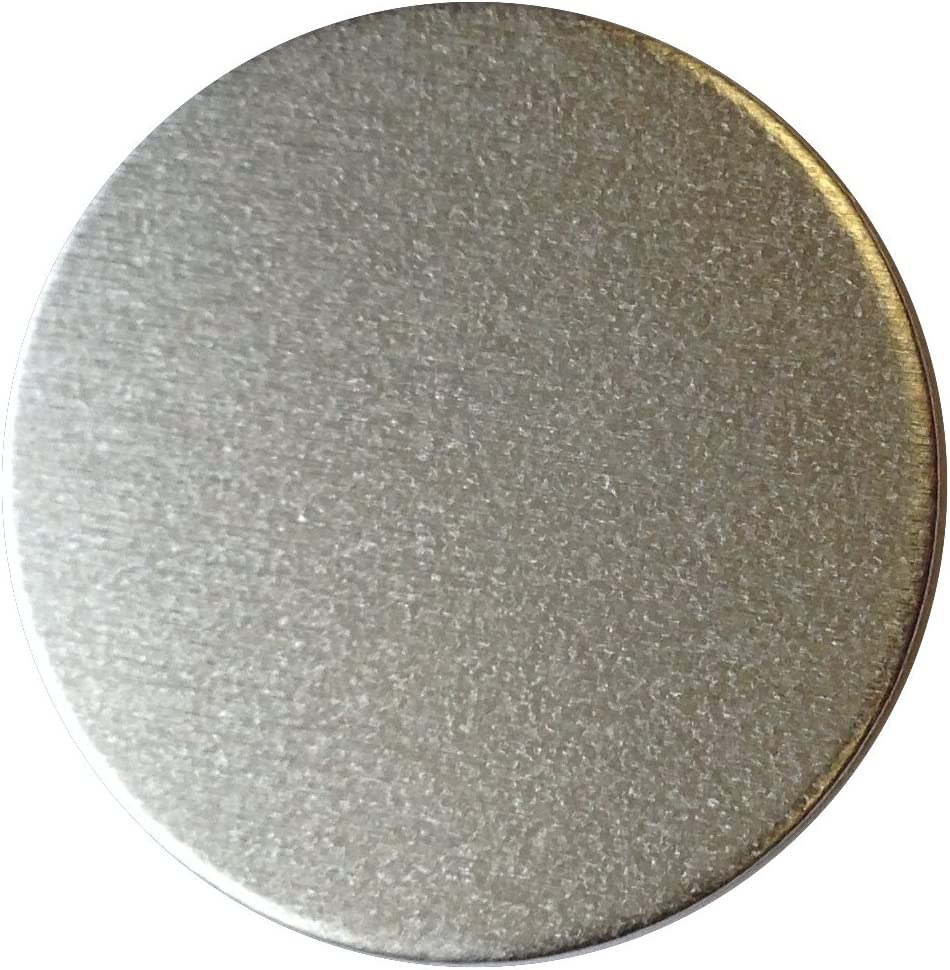 CleverDelights 1//2 Round Stamping Blanks .025 50 Pack 22 Gauge Aluminum Circle Discs Tags