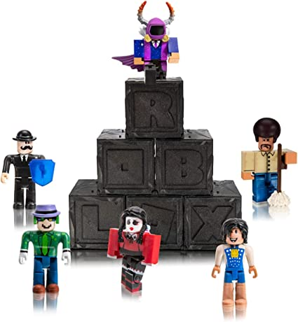 Images Of Roblox Toys Amazon Com Roblox Action Collection Series 7 Mystery Figure 6 Pack Includes 6 Exclusive Virtual Items Toys Games