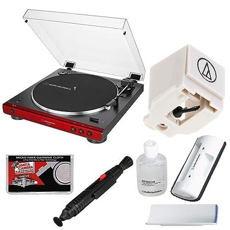 Amazon.com: Audio-Technica AT-LP60XBT - Tocadiscos estéreo ...