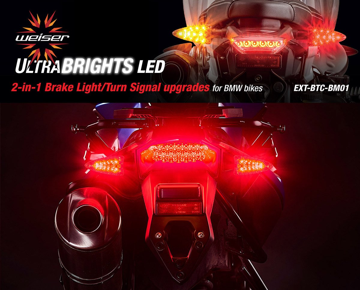Ultrabrights 2 In 1 Led Brake Light Turn Signal Upgrades 2005 Bmw R1200gs Engine Diagram View For Newer Motorcycles S Series G R And F Automotive