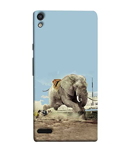 premium selection 9080e 1d61f Printfidaa Huawei Ascend P6 Back Cover Dogs Chasing: Amazon.in ...