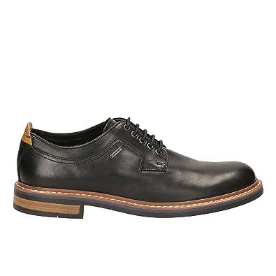 ad0de8a5494da2 Clarks Men s Lace-Up Gore-Tex Derby Shoes Darby Walk GTX Black Leather   Amazon.co.uk  Shoes   Bags