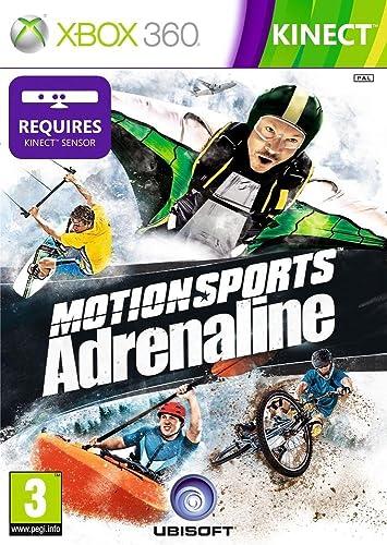 Ubisoft MotionSports Adrenaline - Juego (Xbox 360, Deportes, E (para todos)): Amazon.es: Videojuegos